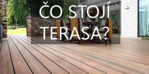Cena terasy. Koľko stojí drevená terasa?